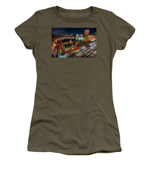 Temple Square Lights Women's T-Shirt