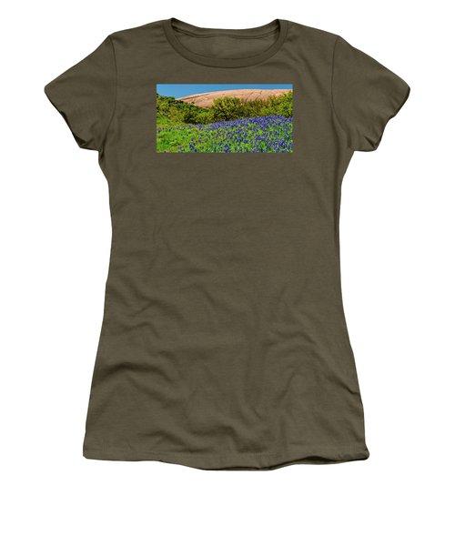 Texas Bluebonnets And Enchanted Rock 2016 Women's T-Shirt