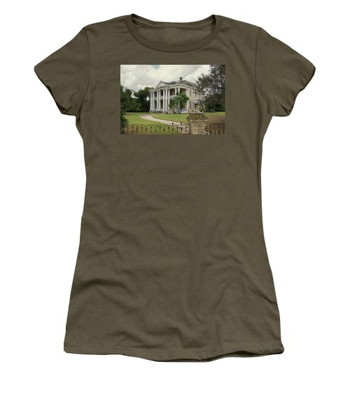 Texas Mansion In Ruin Women's T-Shirt