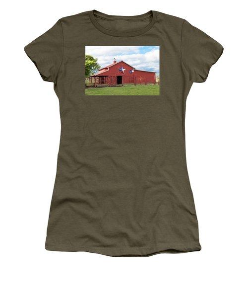 Texas Red Barn Women's T-Shirt