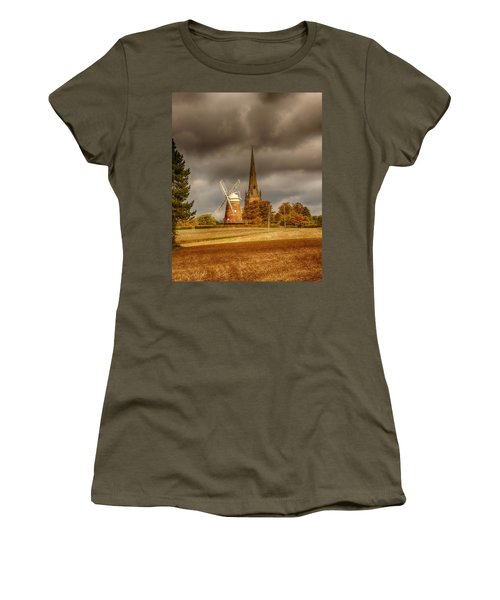 Women's T-Shirt featuring the photograph Thaxted Village by Chris Cousins