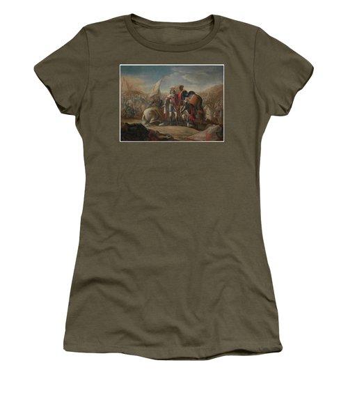 'the Battle Of Aljubarrota'. 1791. Oil On Canvas. John I Of Portugal. Women's T-Shirt