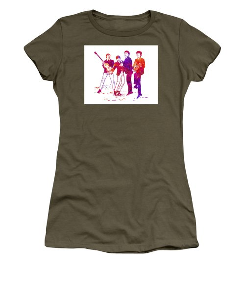 The Beatles Watercolor 02 Women's T-Shirt