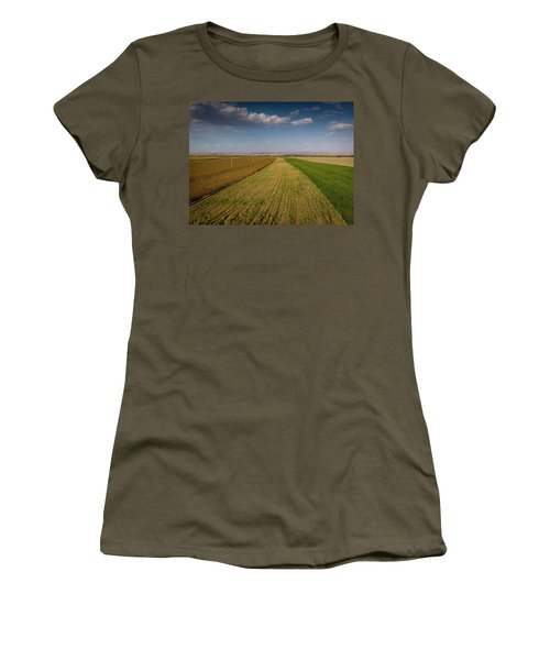 The Colored Fields Women's T-Shirt