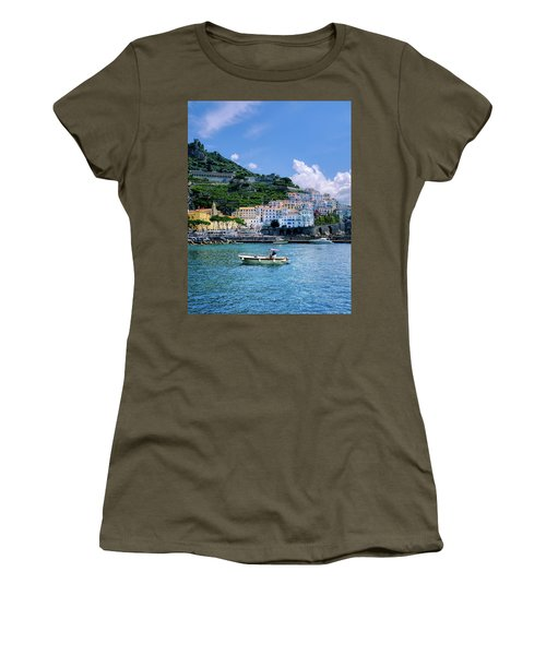 The Colorful Amalfi Coast  Women's T-Shirt