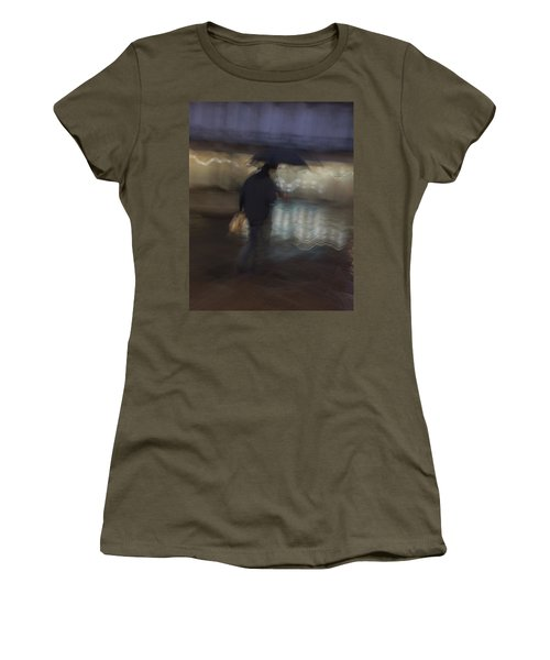 Women's T-Shirt featuring the photograph The End Of A Long Day by Alex Lapidus