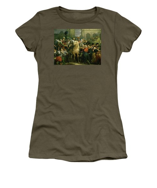 The Entry Of Henri Iv Into Paris Women's T-Shirt