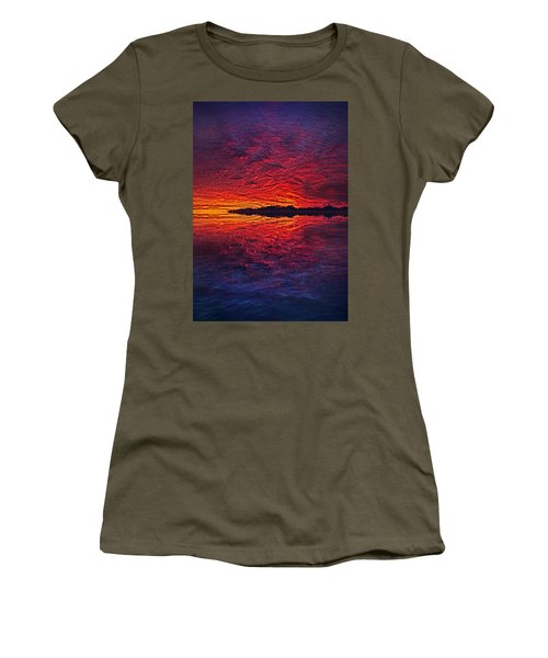 Women's T-Shirt featuring the photograph The Last Chapter by Phil Koch