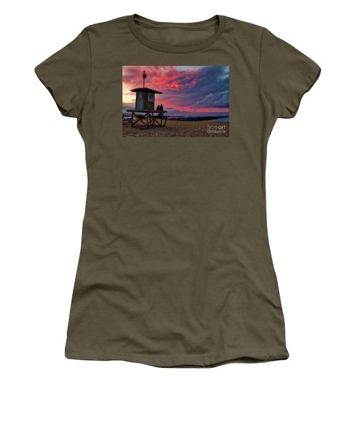 The Last Sunrise Of 2018 At The Wedge Women's T-Shirt