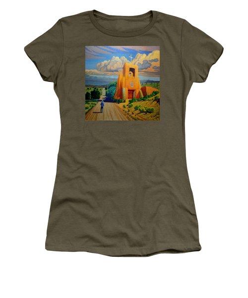 The Long Road To Santa Fe Women's T-Shirt