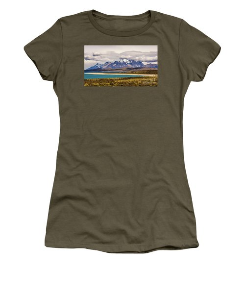 The Mountains Of Torres Del Paine National Park, Chile Women's T-Shirt