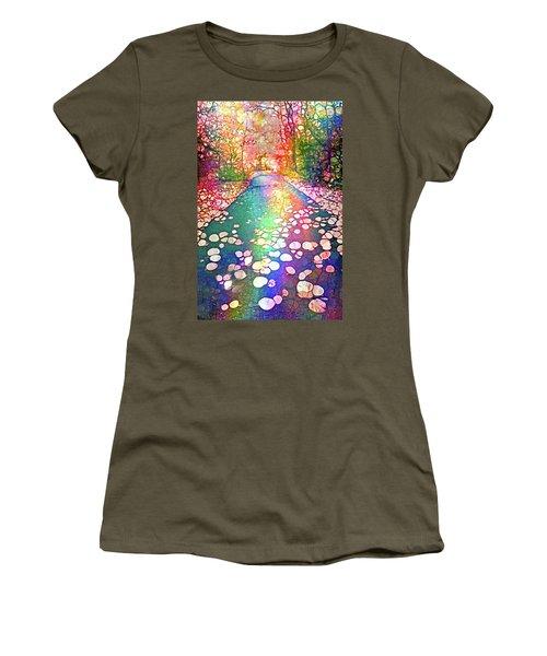 The Path Where Rainbows Meet Women's T-Shirt