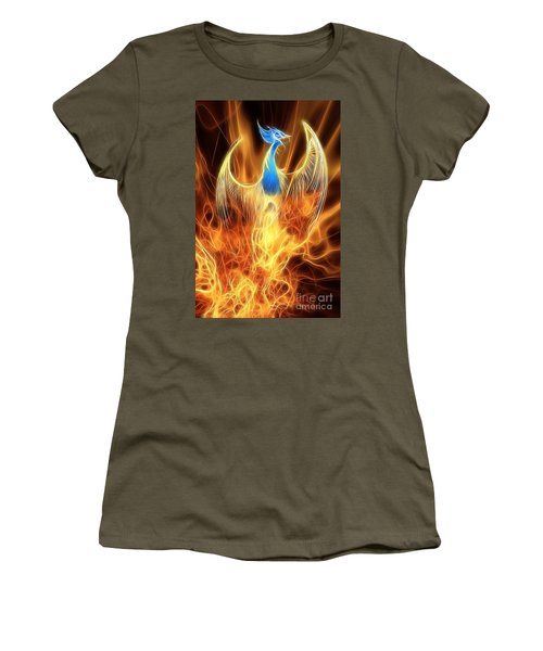 The Phoenix Rises From The Ashes Women's T-Shirt