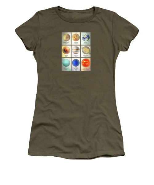 The Planets Women's T-Shirt