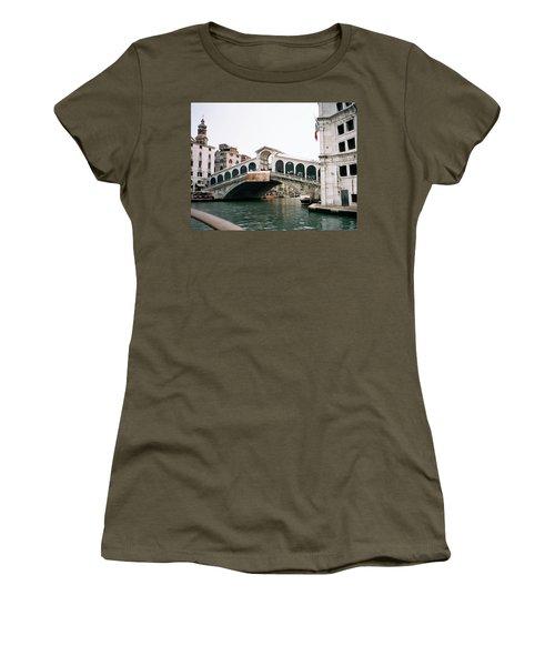 The Rialto Bridge  Women's T-Shirt