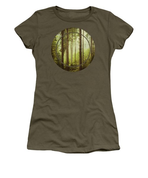 The Small And The Tall - Fir Forest Women's T-Shirt
