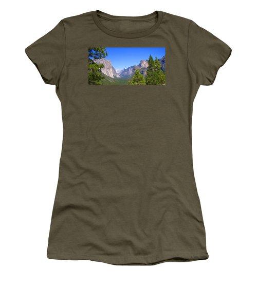 The Valley Of Inspiration-yosemite Women's T-Shirt