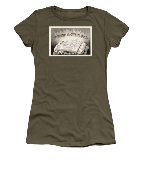 Thy Word Is A Light Unto My Path, 1872 Women's T-Shirt