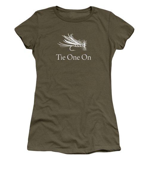 Tie One On Fly Fishing Shirts - Fishing Gear Shirt Men Women Women's T-Shirt