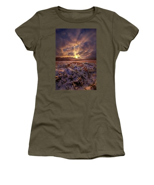 Women's T-Shirt featuring the photograph Times They Changed by Phil Koch