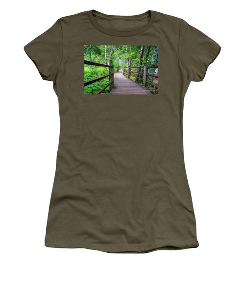 Trail At Gooseberry Falls Women's T-Shirt