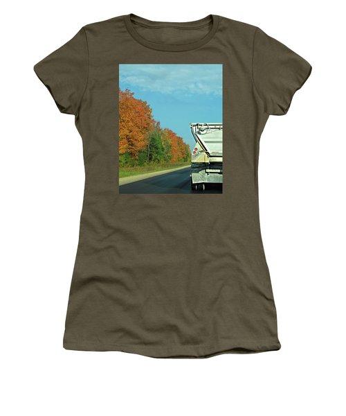 Trailing Behind Women's T-Shirt