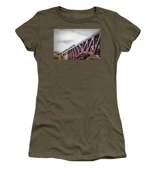 Train Over Letchworth Women's T-Shirt