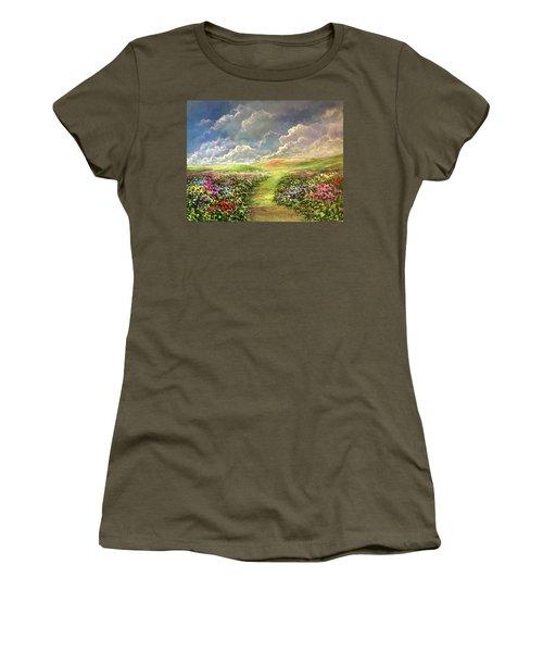Transcend To Dreams Women's T-Shirt