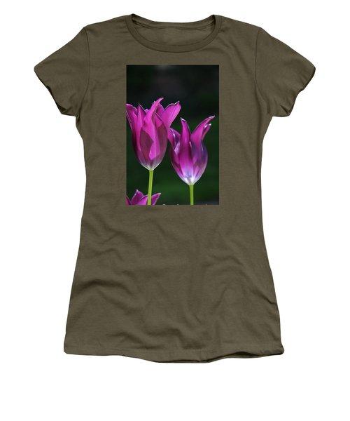 Translucent Tulips Women's T-Shirt