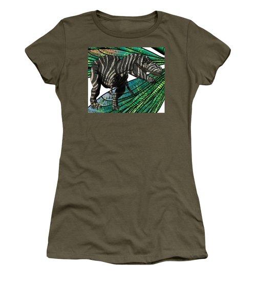 Tyrannosaurus Takes Wings Women's T-Shirt