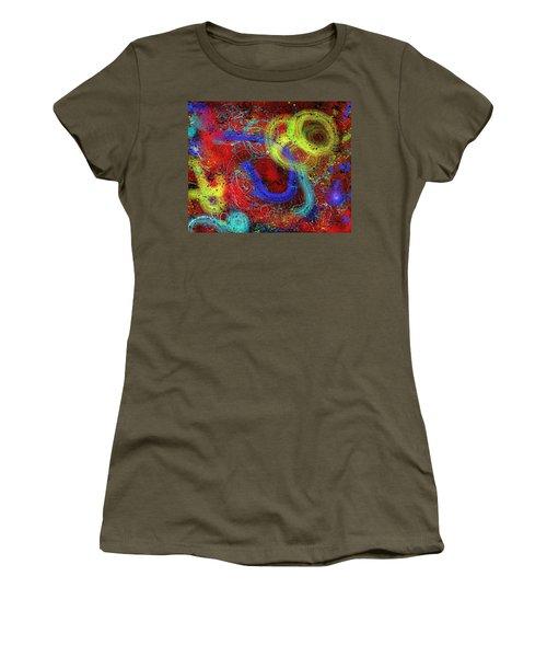 Under The Sea Digital Addition2 Women's T-Shirt