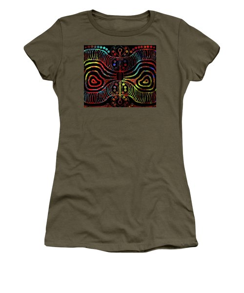 Under The Sea Digital Patterns Of Life Women's T-Shirt