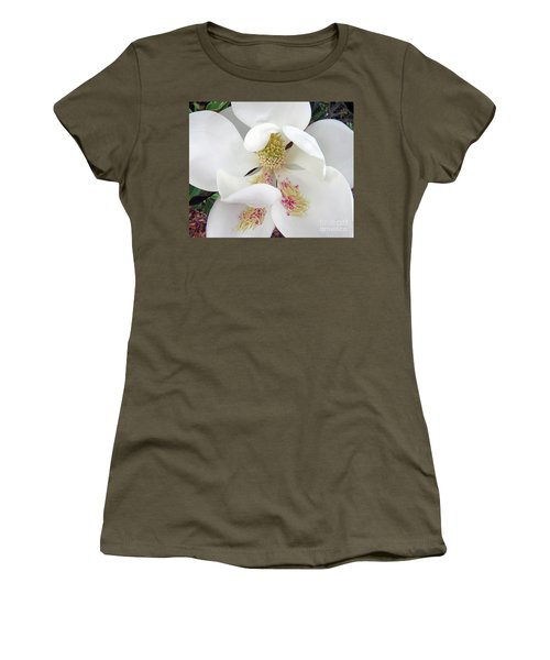 Unfolding Beauty Of Magnolia Women's T-Shirt