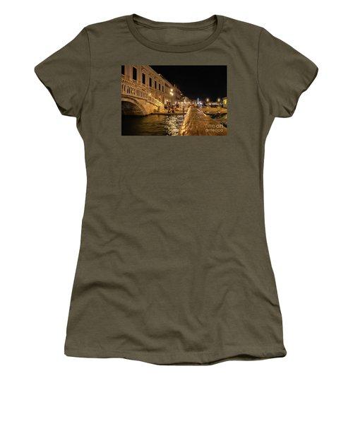 Venice At Night. San Marco Women's T-Shirt