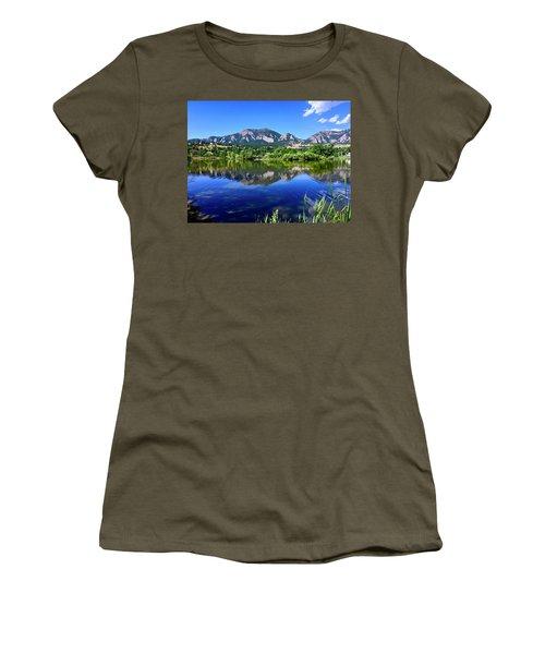 Women's T-Shirt featuring the photograph Viele Lake 3 by Dan Miller