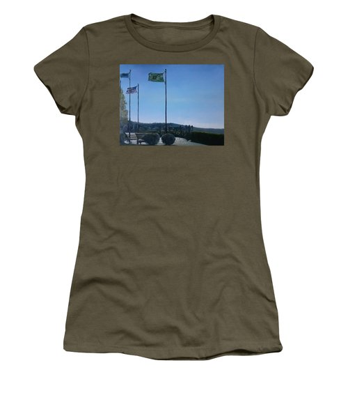 Viewing Circle At Grand Ave Park Women's T-Shirt