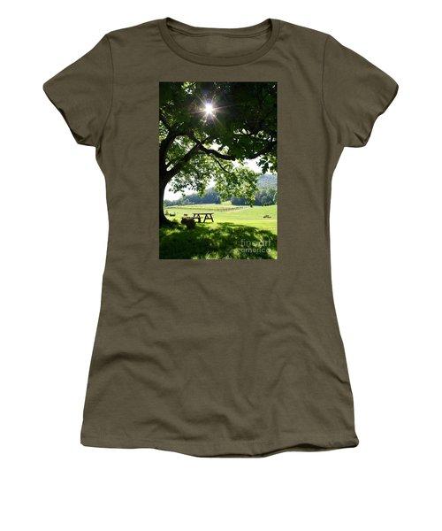 Vineyard In Georgia Women's T-Shirt