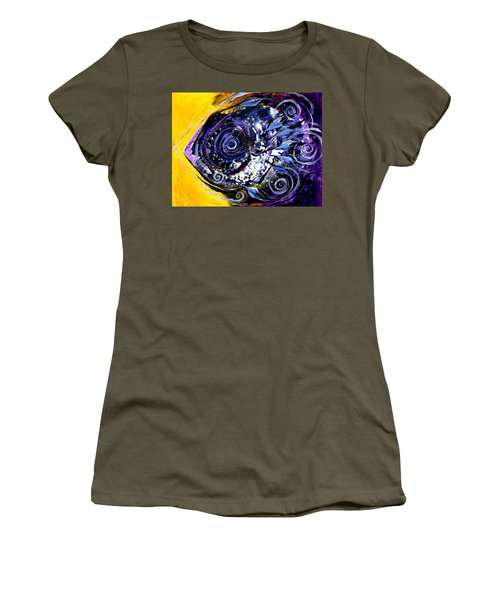 Violet Tri Fish Women's T-Shirt