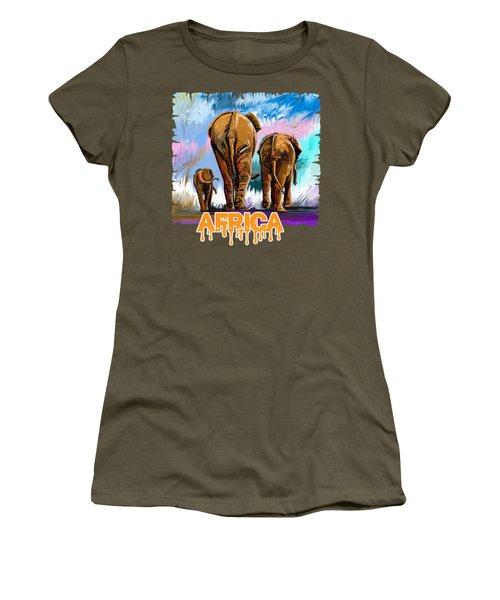 Walking Away Women's T-Shirt