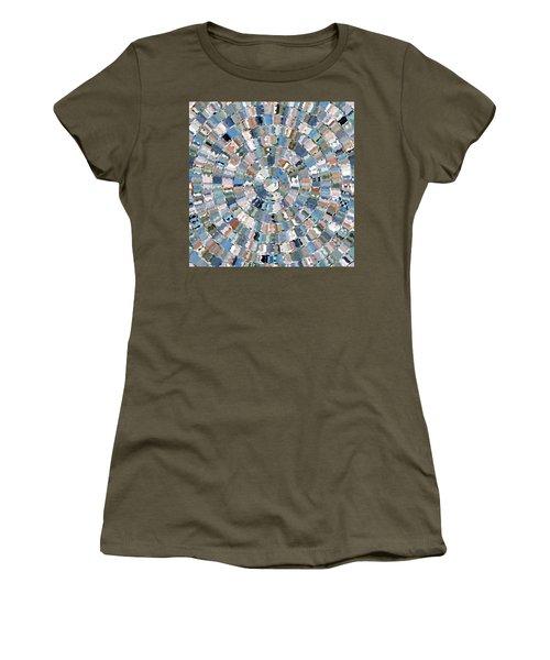 Water Mosaic Women's T-Shirt