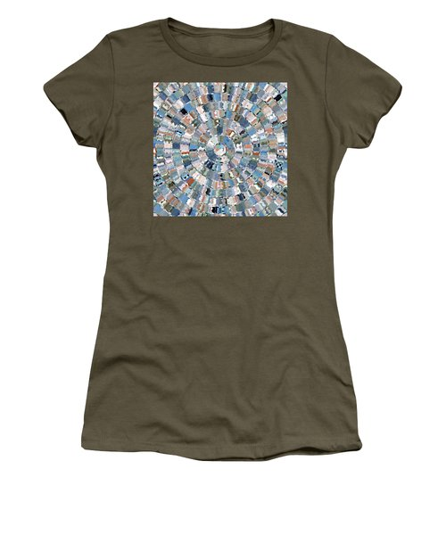 Water Mosaic Women's T-Shirt