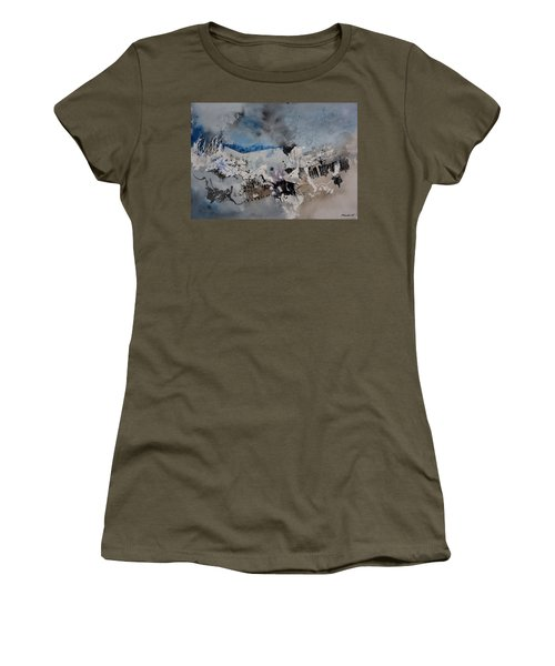 Watercolor Abstract 5491104 Women's T-Shirt