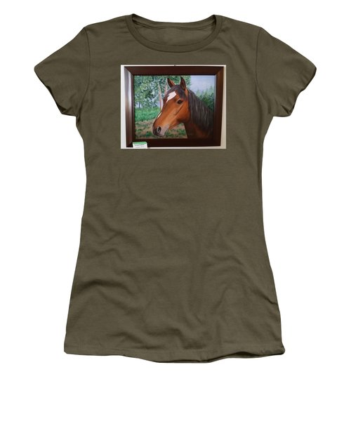 Wayne's Horse Women's T-Shirt