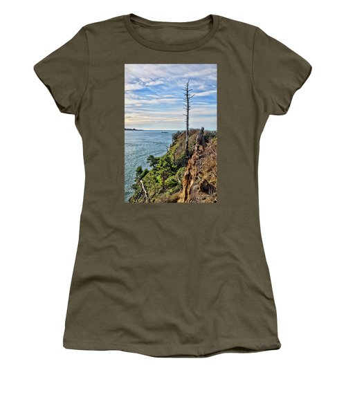 Weathered Guardian On Otter Crest Women's T-Shirt