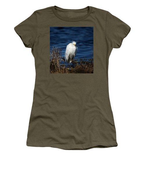 White Egret Women's T-Shirt
