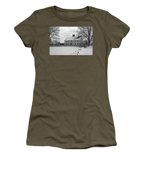 Winter At Noyes House Women's T-Shirt