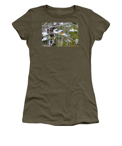 Winter Blue Women's T-Shirt