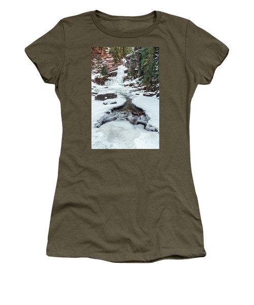 Winter Falls Women's T-Shirt