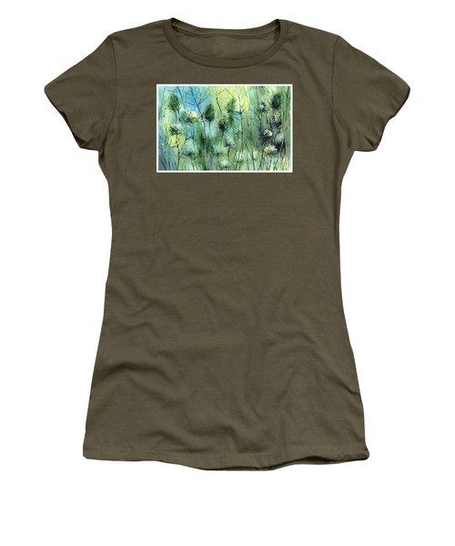 Winter Flowers Women's T-Shirt
