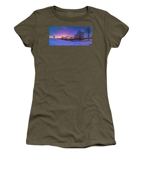 Winter Panorama Women's T-Shirt